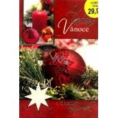 Nekupto Přání k Vánocům Radostné Vánoce červené