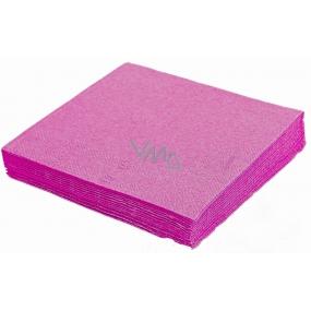Gastro Papírové ubrousky barevné magenta 2 vrstvé 33 x 33 cm 50 kusů