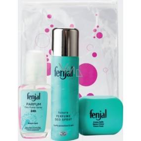 Fenjal 24h parfémovaný deodorant sklo 75 ml + Classic deodorant sprej 150 ml + Creme Soap toaletní mýdlo 100 g, kosmetická sada