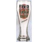 Nekupto Dárky s humorem Pivní sklenice humorné Pivo není jen pití, je to láska na celý život 0,6 l, WH 001