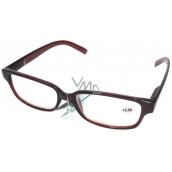 Berkeley Čtecí dioptrické brýle +2,50 plastové hnědé 1 kus MC2125