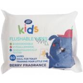 Boots Vlhčené ubrousky splachovatelné s ovocnou vůní pro děti 60 kusů