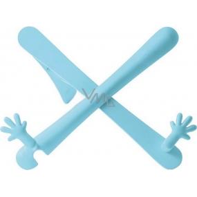 If The Hands Stand Držák na knihy/tablety Modrý 25 x 45 x 210 mm