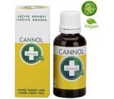 Annabis Cannol konopný olej masáže, koupele, vlasy 30 ml