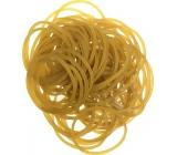 Gumičky žluté 80 kusů 619