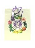 Jeanne en Provence Dárková papírová taška 24,5 x 30 cm bílá s logem