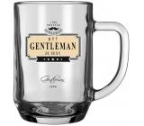 Nekupto Liga Pravých Gentlemanů Pivní sklenice Být Gentleman je sexy 14,5 x 13 x 10 cm