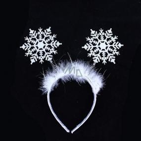 Čelenka sněhová vločka