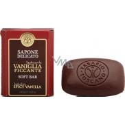 Erbario Toscano Vanilka a koření toaletní mýdlo 140 g