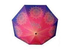 Albi Original Deštník skládací Mandala 25 cm x 6 cm x 5 cm