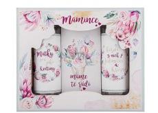 Bohemia Gifts & Cosmetics Maminka sprchový gel 100 ml + šampon 100 ml + sůl do koupele 110 g, kosmetická sada