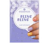 Essence Bling Bling Nail Stickers nálepky na nehty 28 kusů