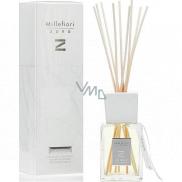 Millefiori Milano Zona Soft Leather - Jemná kůže Difuzér 500 ml + 10 stébel v délce 35 cm do velkých prostor vydrží min. 6 měsíců