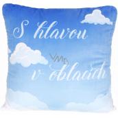 Albi Relaxační polštář velký V oblacích 50 x 50 cm
