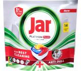 Jar Platinum Plus kapsle do myčky nádobí 14 kusů
