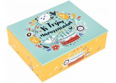 Albi Hrací krabička na peníze Dort 11 x 9 x 3,5 cm