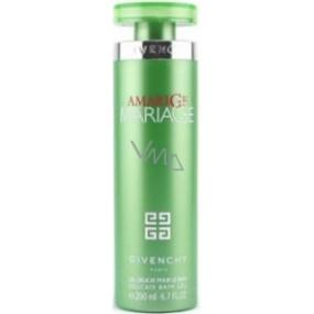 Givenchy Amarige Mariage sprchový gel pro ženy 200 ml