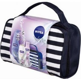 Nivea Kazdouble tělové mléko 400 ml + sprchový gel 250 ml + antiperspirant 150 ml + taška, pro ženy kosmetická sada