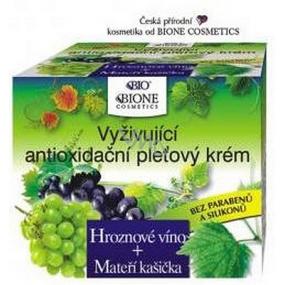 Bione Cosmetics Bio Hroznové víno vyživující antioxidační pleťový krém 51 ml
