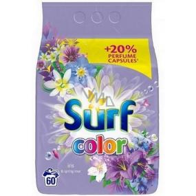 Surf Color Iris & Spring Rose prášek na praní barevného prádla 60 dávek 3,9 kg