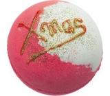 Bomb Cosmetics Vánoce jsou tu Šumivý balistik do koupele 160 g