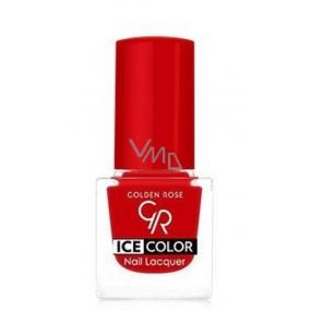 Golden Rose Ice Color Nail Lacquer lak na nehty mini 124 6 ml