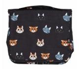 Albi Original Cestovní závěsná kosmetická taška Kočka 24 x 19 x 8 cm