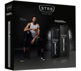 Str8 Rise parfémovaný deodorant sklo pro muže 75 ml + sprchový gel 250 ml, kosmetická sada