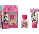 Disney Princess toaletní voda pro děti 30 ml + sprchový gel 70 ml, dárková sada