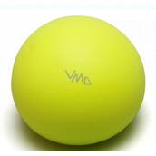 EP Line Antistresový míček svítící ve tmě světle žlutý 6,5 cm
