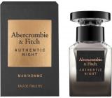 Abercrombie & Fitch Authentic Night Man toaletní voda pro muže 15 ml