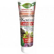Bione Cosmetics Cannabis + Kostival Hřejivý bylinný balzám s Kaštanem koňským 200 ml