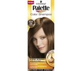 Schwarzkopf Palette Color Shampoo tónovací barva na vlasy 231 - Světle hnědý