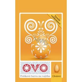 Ovo Cibulová prášková barva na vajíčka 1 sáček (5 g) = 10 - 15 vajec
