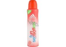 Adidas Fun Sensation deodorant sprej pro ženy 150 ml