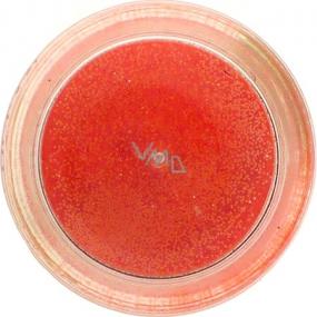 Ocean Crystalina Sypký glitr na nehty, tělo, obličej oranžový neon 1,5 g