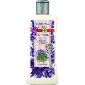 Bohemia Herbs Lavender regenerační tělové mléko 250 ml