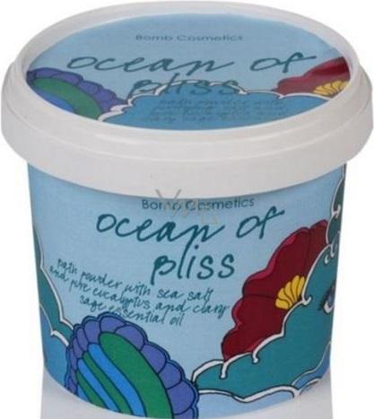 Bomb Cosmetics Oceán blaženosti - Ocean of Bliss Foaming Koupelový pudr 365 ml