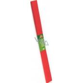 Koh-i-Noor Krepový papír 50 x 200 cm, bílý světle červený