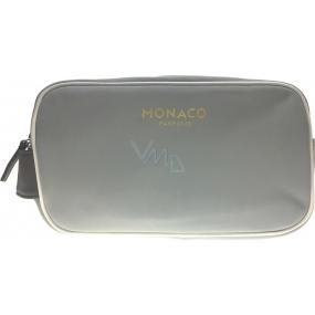 Monaco Man etue šedo-hnědá 21 x 12 x 8 cm