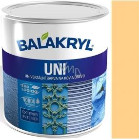 Balakryl Uni Mat 0660 Okr univerzální barva na kov a dřevo 700 g