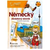 Albi Kouzelné čtení interaktivní mluvící kniha Německý obrázkový slovník