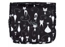 Albi Original Cestovní závěsná kosmetická taška Kočky 24 x 19 x 3 cm