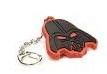 Disney Star Wars key chain black and red