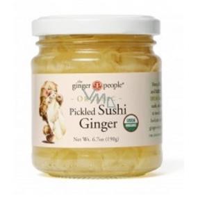 Ginger People Bio Sushi zázvor plátkový 190 g
