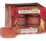 Yankee Candle Spiced Orange - Pomeranč se špetkou koření vonná čajová svíčka 12 x 9,8 g