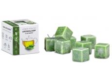 Kozák Zelený čaj přírodní vonný vosk do aromalamp a interiérů 8 kostiček 30 g