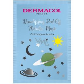 Dermacol Cleansing Peel-Off čisticí slupovací pleťová maska 15 ml