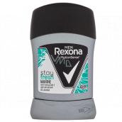 Rexona Men Stay Fresh Marine tuhý antiperspirant deodorant stick s 48hodinovým účinkem pro muže 50 ml