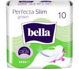 Bella Perfecta Slim Green ultratenké hygienické vložky s křidélky 10 kusů
